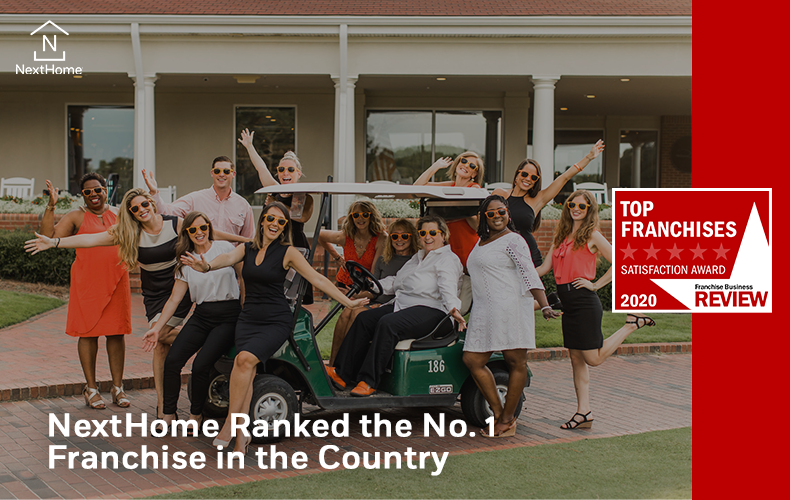 NextHome Ranked the No. 1 Franchise in the Country